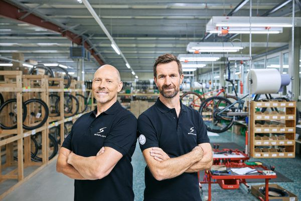 Die Geschäftsführer Thomas Zenker (r.) und Stefan Vollbach.Simplon