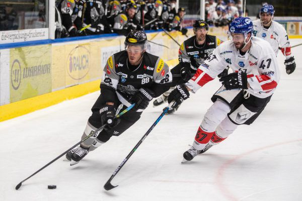 Die Innsbrucker brachten mehr Intensität ins Spiel, wollten den Sieg mehr.Frederic Sams