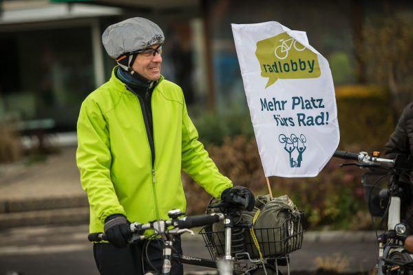 Die Radlobby fordert verstärkte Investitionen in den Radverkehr.Steurer
