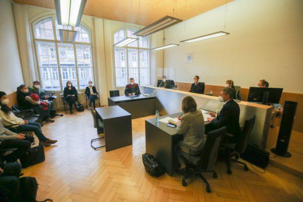 Die Verhandlung am Landesgericht Feldkirch endete mit zwei Schuldsprüchen.hartinger