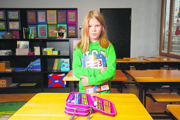Die Volksschüler dürfen ab morgen in durchgehenden Präsenzunterricht zurück.Hartinger (2)