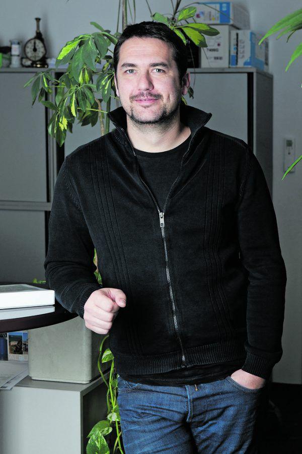 Fachgruppenobmann Peter Aberer. WKV