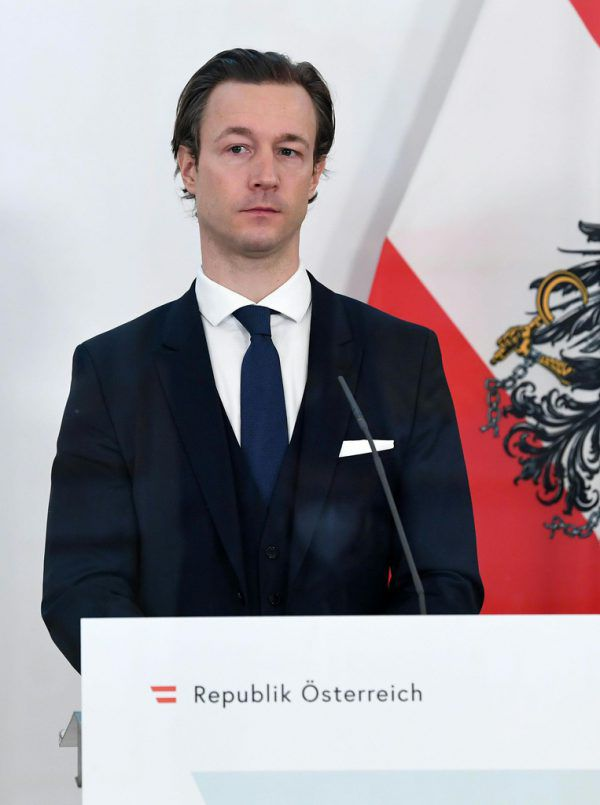 Finanzminister Gernot Blümel.apa