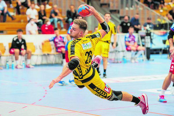 """Florian Mohr gibt die Richtung für die Partie in Linz vor wenn er sagt: """"Wir müssen beweisen, dass wir die bessere Mannschaft sind."""" Stiplovsek"""