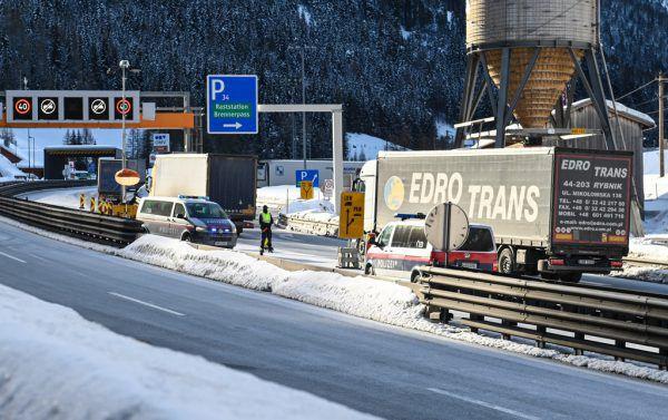 Grenzkontrollen am Brenner. APA