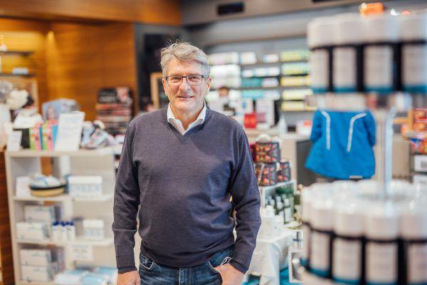 Jürgen Rehak bemängelt die Einbindung der Apotheken in die Pandemie-Bekämpfung.Sams