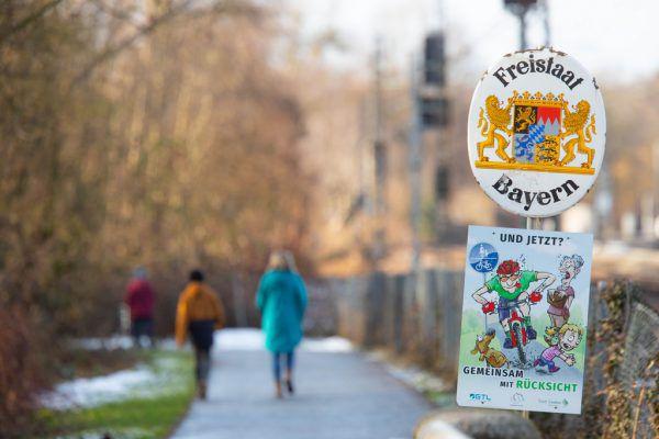 Keine Anzeichen auf eine Verschärfung der Kontrollen an den Grenzen zu Bayern. Hartinger