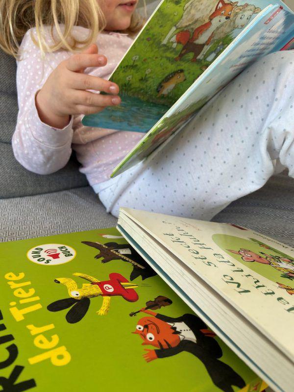 Kinder sollen bereits früh in ihrer sprachlichen Entwicklung gefördert werden.Rauch