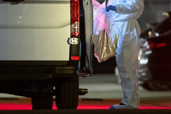 Kriminaltechniker sammelten Spuren.APA