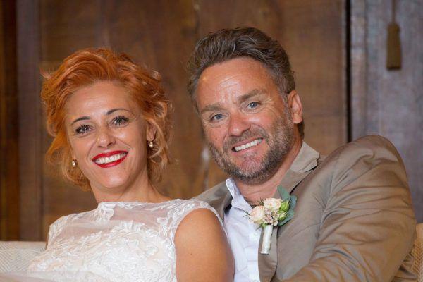 MO-Catering-Geschäftsführer Harald Otti und seine Petra gaben sich inmitten der Corona-Pandemie das Ja-Wort.Handout/Privat (6)