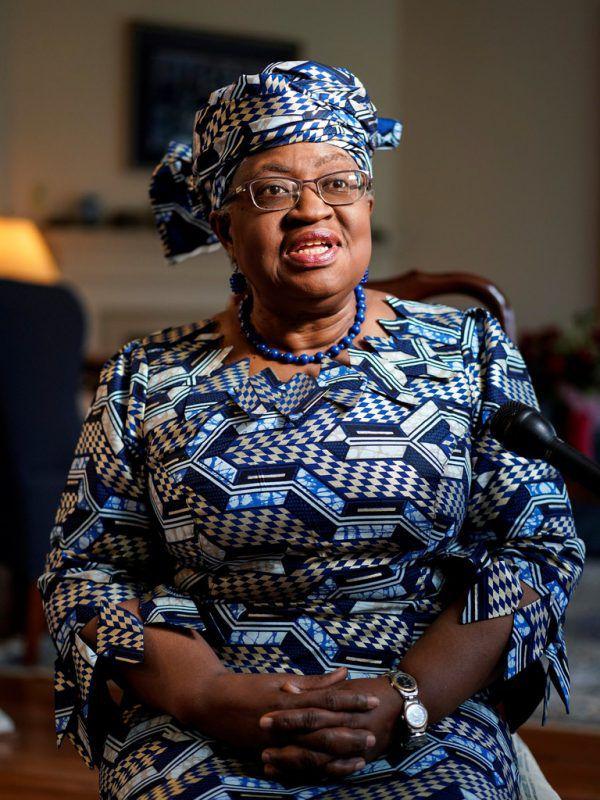 Ngozi Okonjo-Iweala trott ihr neues Amt am 1. März an.reuters