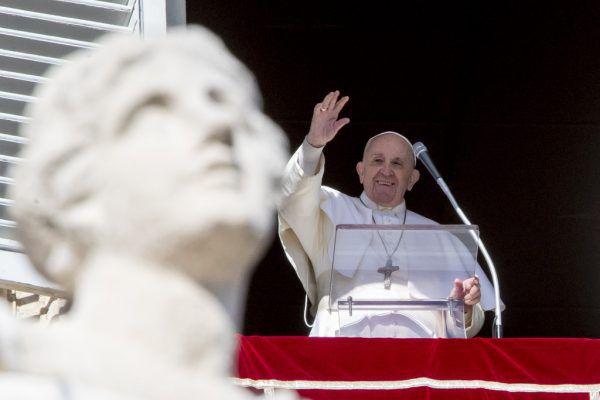 Der Papst betonte, das irakische Volk nicht enttäuschen zu wollen.AP