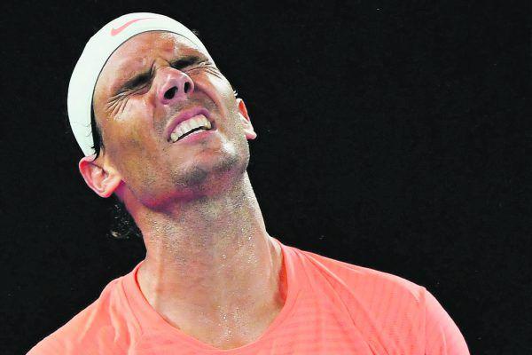Rafael Nadal musste im Viertelfinale eine schmerzliche Niederlage einstecken. AFP