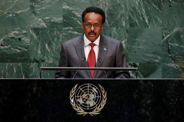 Somalias Präsident: Mohamed Abdullahi Farmajo. reuters