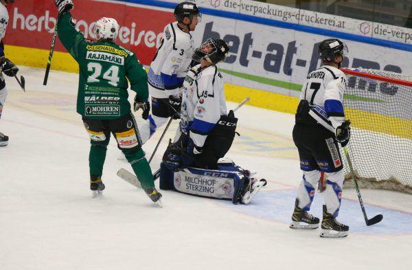 Spieler des Abends: Tuukku Rajamäki schoss zwei Tore. Hartinger