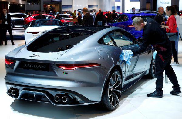 Verbrennungsmotoren sollen bei Jaguar bald Geschichte sein.AFP