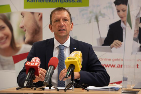 Vorarlbergs AMS-Chef Bernhard Bereuter.Hartinger