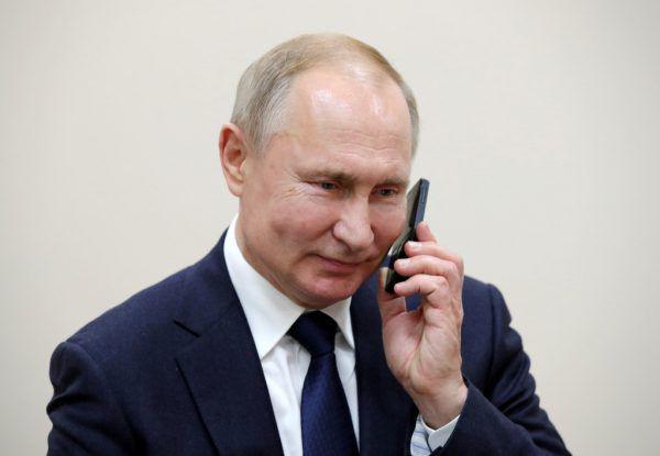 Wurde von Kanzler Kurz angerufen: Wladimir Putin.VIA REUTERS