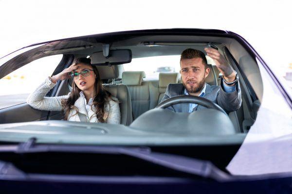 Autofahren kann zur Beziehungsprobe werden.Shutterstock