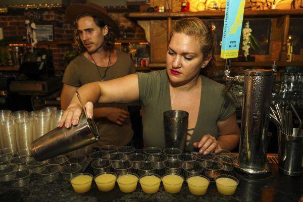 """Bars ohne Alkohol liegen international im Trend – auch in der New Yorker """"Listen Bar"""".AP"""