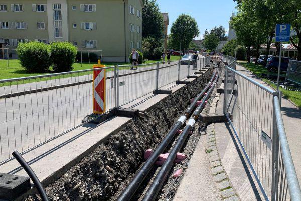 Das Fernwärmenetz in der Stadt wird konsequent ausgebaut.Stadt Dornbirn