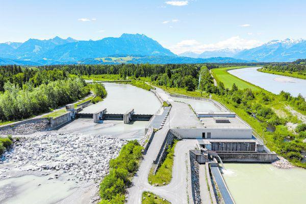 Das Kraftwerk am Illspitz ist seit 2014 in Betrieb. Nach wie vor wird um offene Werklohnforderungen prozessiert. Stiplovsek