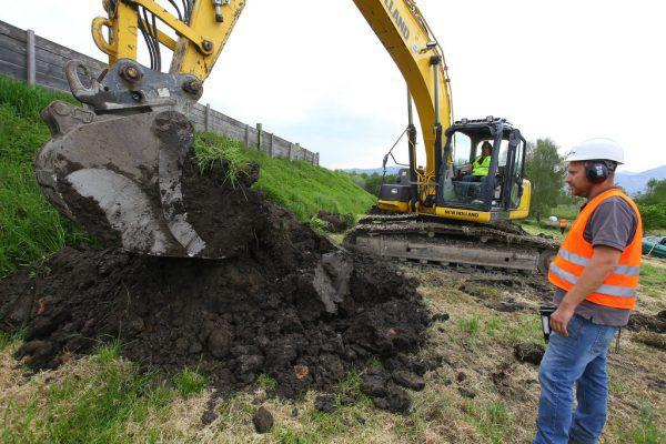 Das Projekt für eine Bauaushubdeponie wurde aufgegeben.Symbolbild/archiv