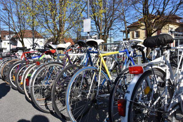 Der alljährliche Fahrradmarkt musste abgesagt werden.Stadt Dornbirn