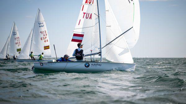 Die Chancen auf ein Nationenticket für Olympia sind mit dem gestrigen Tag wohl dahin.Matesa / Candidate Sailing
