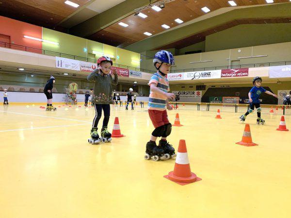 Die Kinder des RHC Dornbirn waren mit Eifer wieder beim Training dabei.RHC Dornbirn