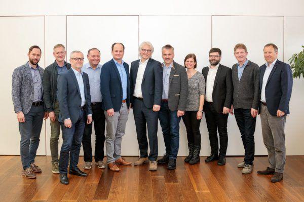 Die Mitglieder des Wasserverbandes Bregenzerwald.VLK