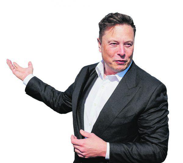 Elon Musk ist nun nicht mehr der reichste Mann der Welt.AFP/Andersen