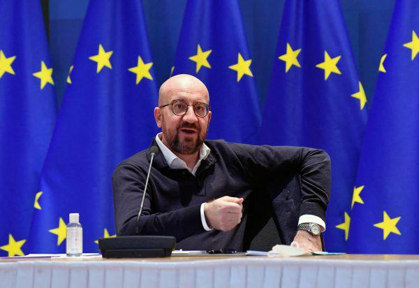 EU-Ratspräsident Charles Michel warnt vor Propaganda.AP
