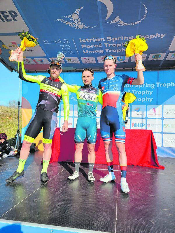 Fortin (l.) sicherte sich im Sprint den Podestplatz. Team Vorarlberg