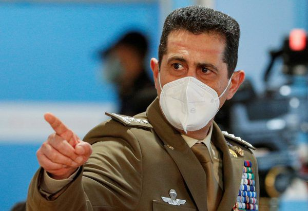 Francesco P. Figliuolo.Reuters