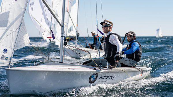 Für David Bargehr und Lukas Mähr endet eine lange gemeinsame Zeit auf dem Segelboot. Candidate Sailing/ Matesa