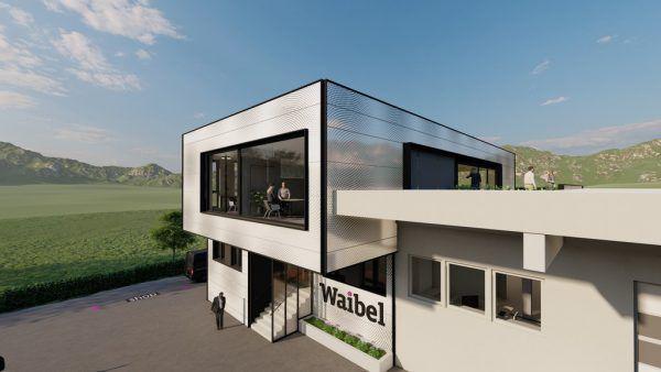 Geplant wurde der Ausbau (links) von der Hassler Architektur ZT GmbH. Unten: Seit 2013 leiten Robert (links) und Richard Waibel das Unternehmen in fünfter Generation.Hassler Architektur, Darko Todorovic