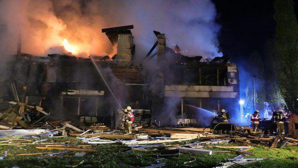 In der Nacht auf den 18. Oktober 2020 explodierte die Schule.
