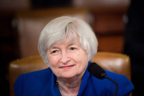 Janet Yellen. AFP