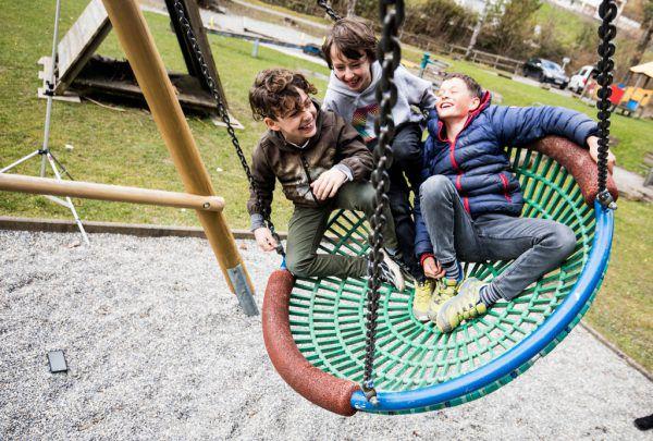 Jungs sind sehr bewegungsorientiert.Klaus Hartinger (3), Stephanie Schweigert