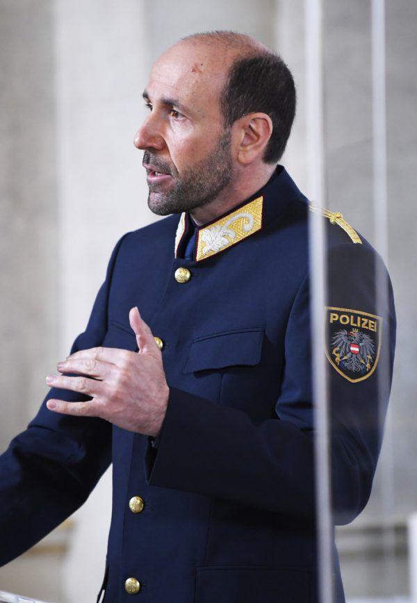Kündigte 300 neue Dienstposten an: Franz Ruf, Generaldirektor für die öffentliche Sicherheit.APA