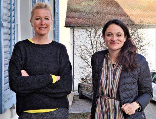Künstlerhaus-Koordinatorin Irma Gerstenmayer und Berufsvereinigungs-Präsidentin Maria Simma-Keller.Yasmin Ritter (7)