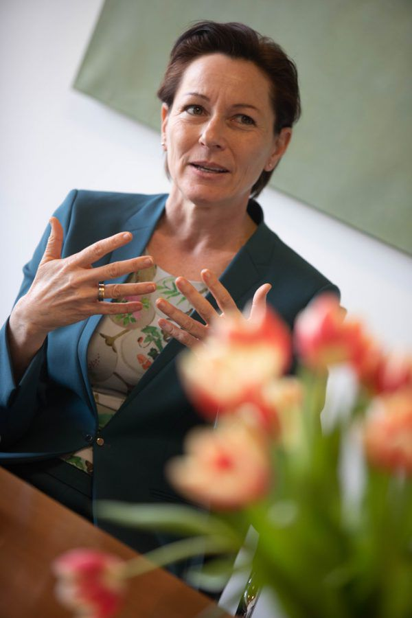 Landesrätin Martina Rüscher.Hartinger