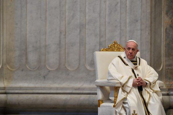 Nach 2020 reduzierte Papst Franziskus auch in diesem Jahr das Osterprogramm. Reuters