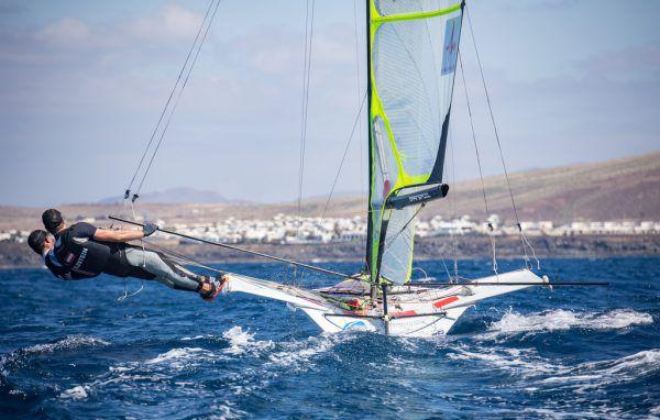 Nach einem kurzen Aufenthalt in der Heimat werden Bildstein/Hussl einen Trainingsblock in Lanzarote einlegen. oesv