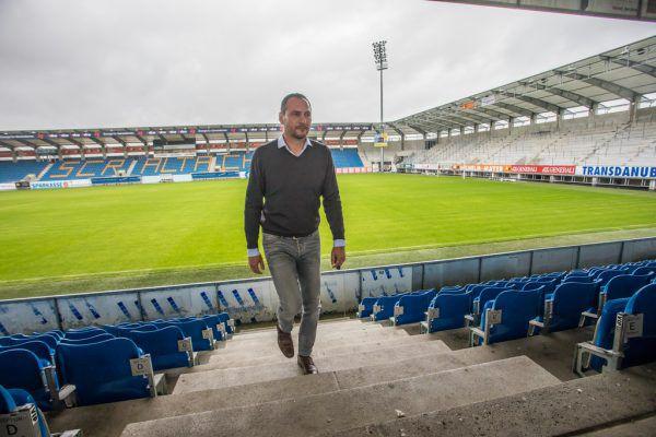 Nach rund eineinhalb Jahren wird Christian Möckel die Cashpoint-Arena im Sommer verlassen. steurer