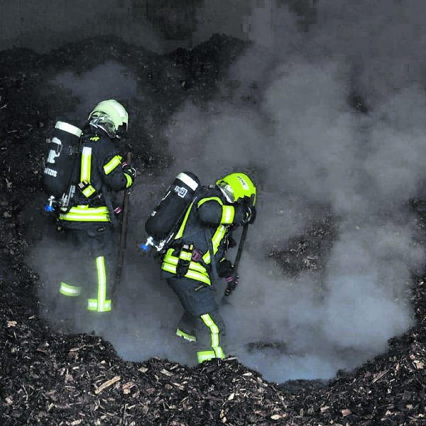 Nach zweieinhalb Stunden war der Brand gelöscht. Feuerwehr Götzis