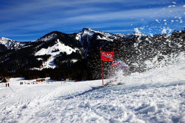 Noch einmal kann im Ebnit Ski gefahren werden.Dornbirner Seilbahn AG