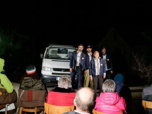 """""""Pakete Pakete"""" läuft nun auch in Vorarlberg. Laurenz Feinig"""