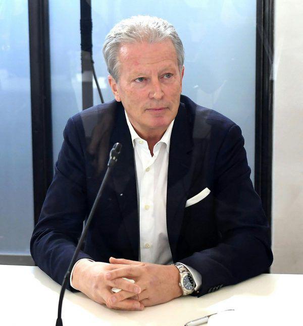 Reinhold Mitterlehner beim U-Ausschuss.APA